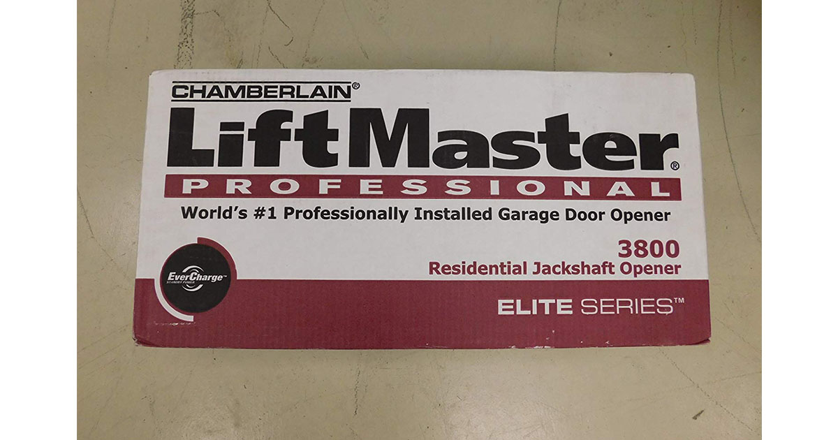 LiftMaster 3800 Residential Jackshaft Garage Door Opener image