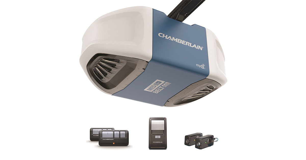 Chamberlain Group B503 Ultra Quiet   Strong Belt Drive Garage Door Opener image