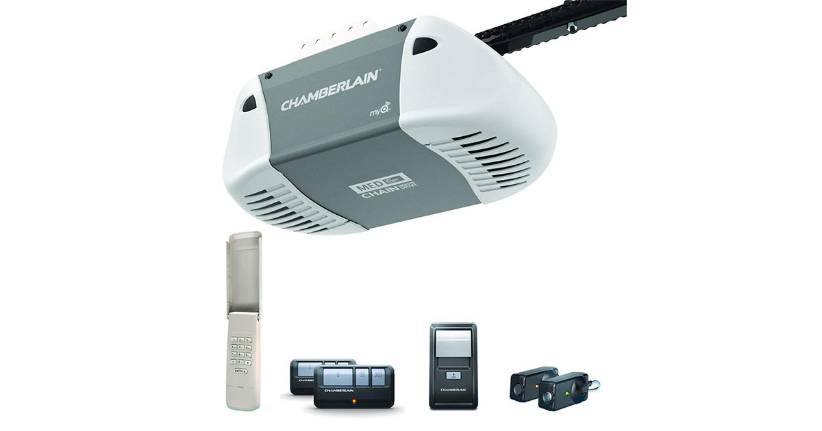 Chamberlain Group C410 Durable Chain Drive Garage Door Opener image