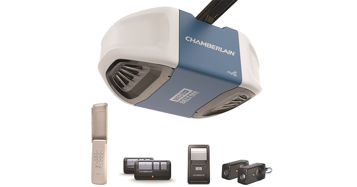 Chamberlain B510 Ultra Quiet Strong Belt Drive Garage Door Opener image