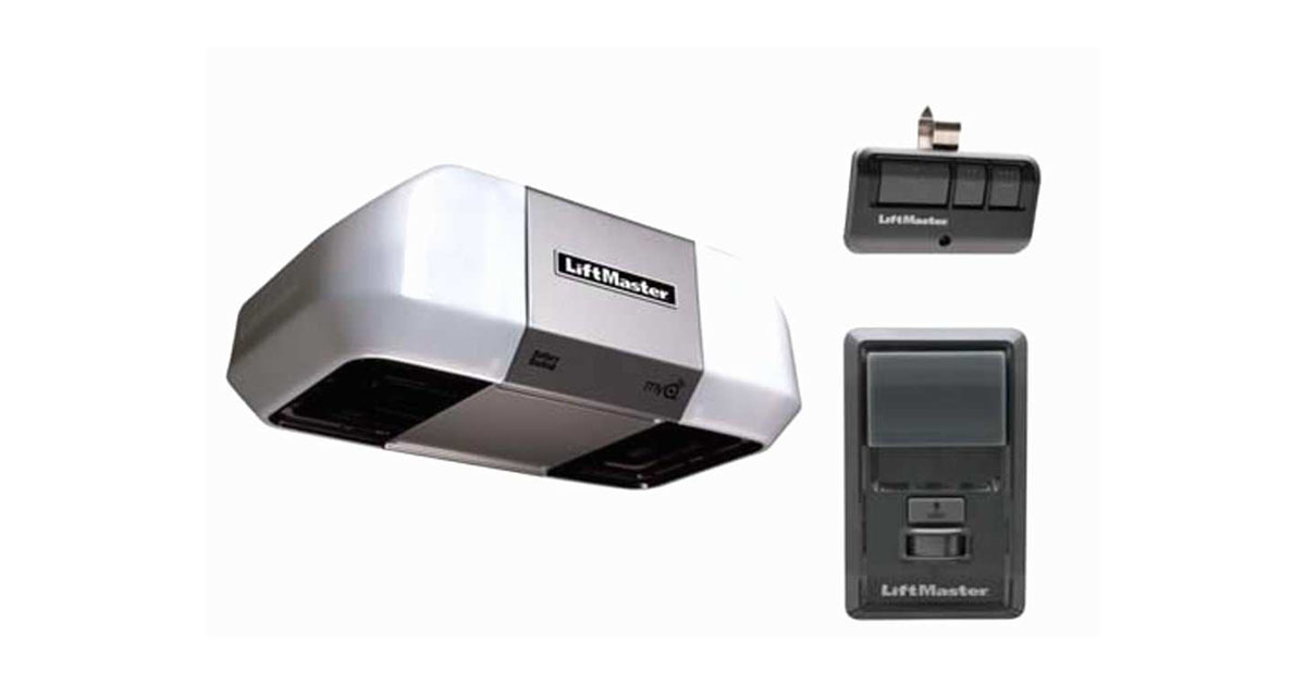 LiftMaster 8360 Premium Series DC Battery Backup Chain Drive image