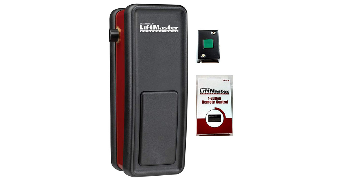 3900 Liftmaster Garage Door Opener light duty Commercial includes 1-371LM Remote image