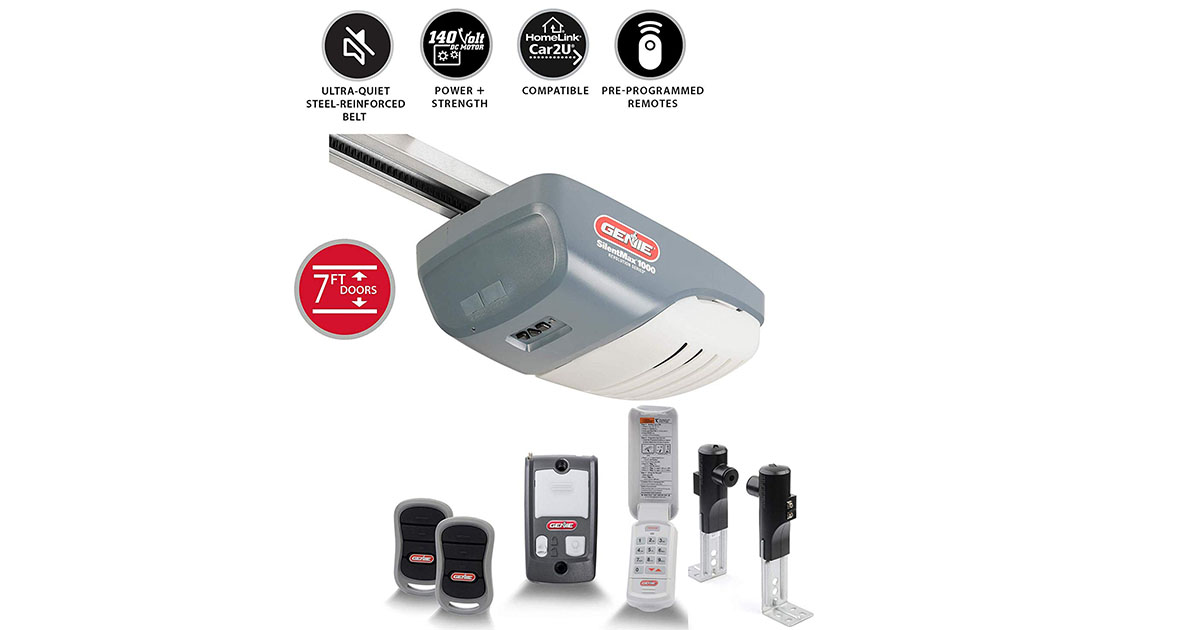 Genie SilentMax 1000 Garage Door Opener Model 3042-THK image