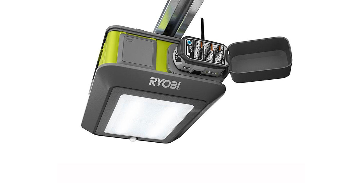 Ryobi Ultra Quiet Garage Door Opener Model GD 200 image